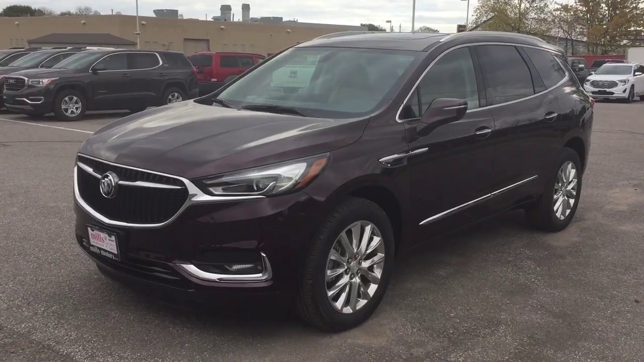 2018 Buick Enclave ALL NEW Power Liftgate Front Rear Heated Seats Cherry Oshawa ON Stock
