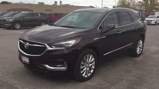 2018 Buick Enclave ALL NEW Power Liftgate Front Rear Heated Seats Cherry Oshawa ON Stock #180284