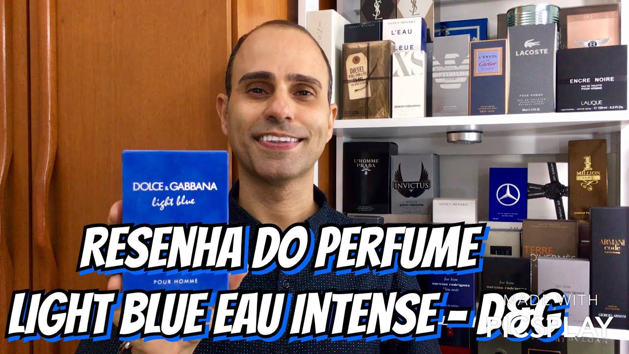 2017 05 dolce gabbana intense perfume review - Resenha Do Perfume Light Blue Eau Intense Dolce Gabbana