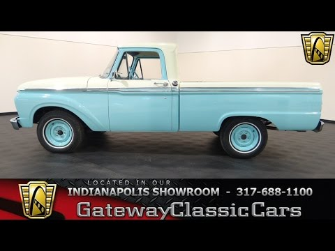 1965 Ford F100 - Gateway Classic Cars Indianapolis - #334 NDY