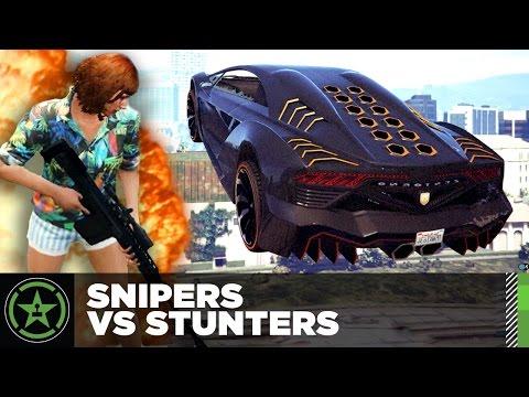 Let's Play – GTA V – Snipers Vs Stunters