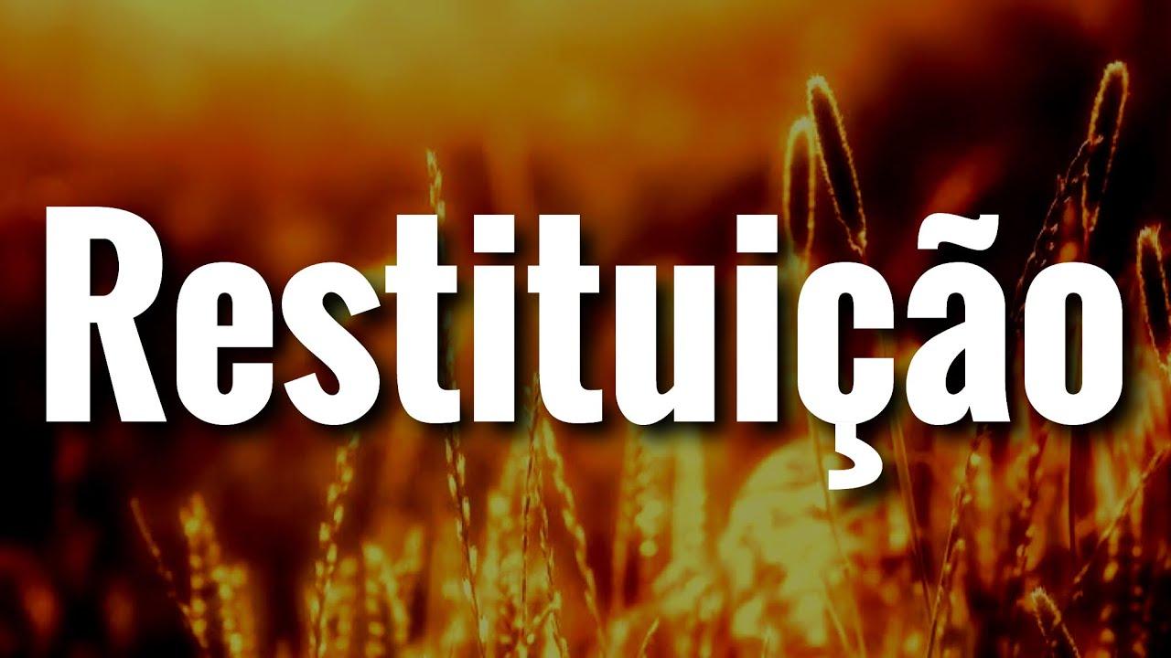 Restituição! Muito Forte! Receba essa Pregação Evangélica! Curta! Pastor Rodrigo Ortunho