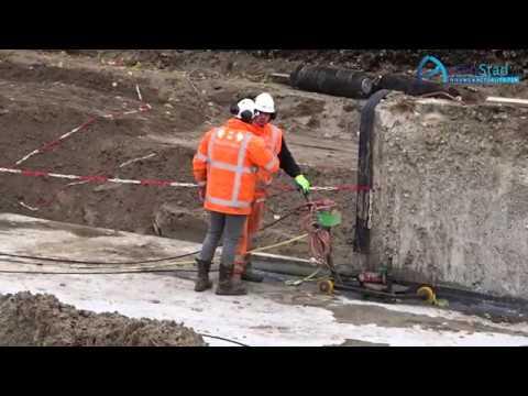 Sloop bij bouw nieuwe tunnel Assen