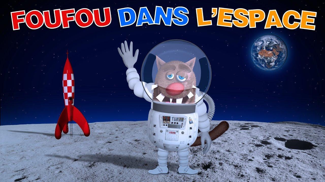 Foufou - Voyage dans l'espace pour les enfants (Travel in Space for kids) 4k