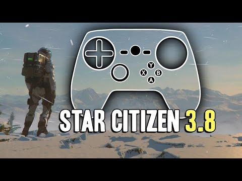 Star Citizen 3.8 Steam Controller Configuration Overview