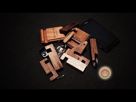 Держатели, подставки для смартфона из дерева ручной работы.