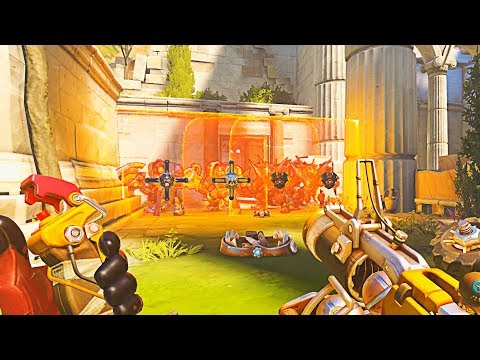 There is a 0.012% Chance of Winning a Game Like THIS.. - Overwatch Montage