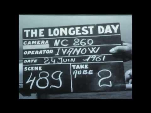 LE JOUR LE PLUS LONG , THE LONGEST DAY 1962 photos tournage poster