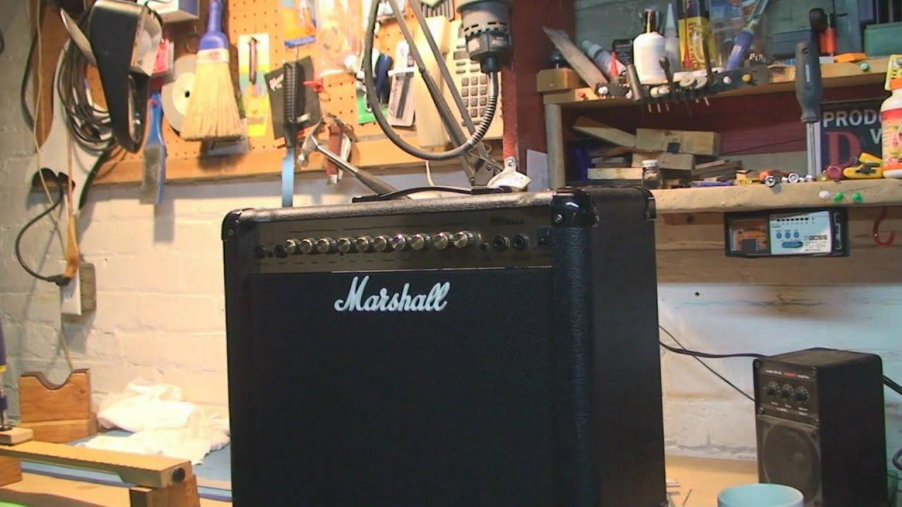 hight resolution of marshall mg series amplifier repair