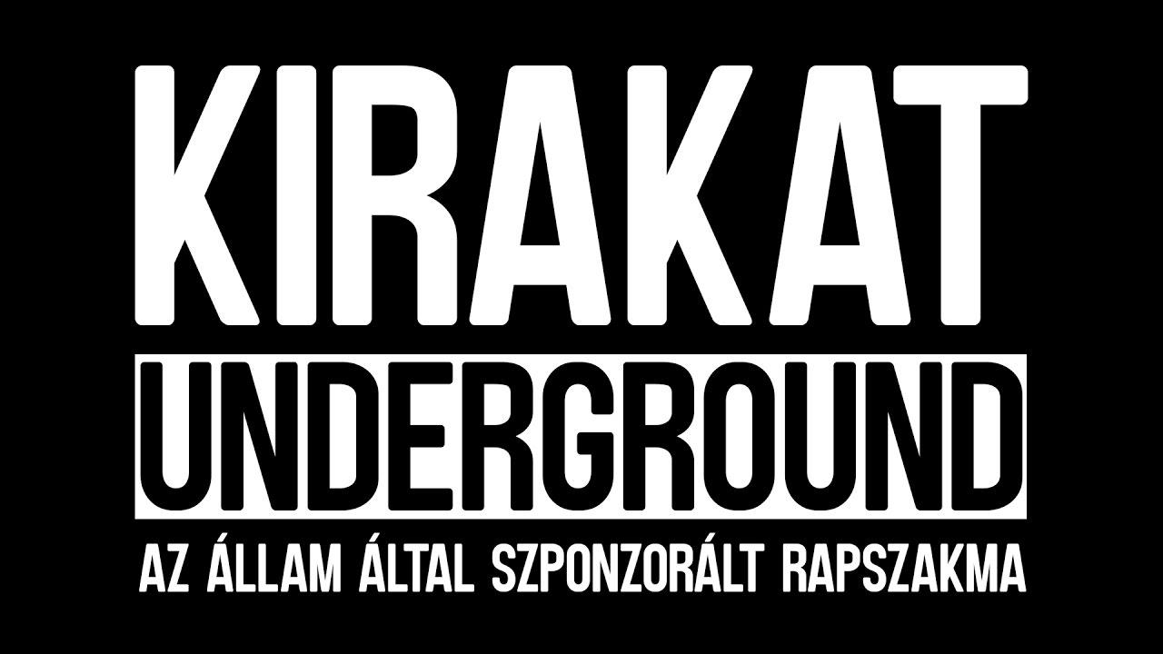 6b202eed97 Kirakat Underground: Az állam által szponzorált rapszakma by Sixfeet