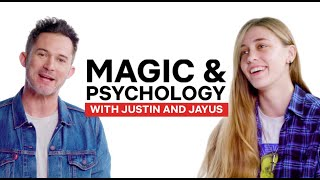 Magic + Psychology Tricks with Justin Willman & Jayus | Magic for Humans | Netflix