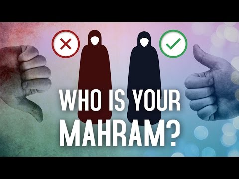 Who Is Your Mahram? - YouTube
