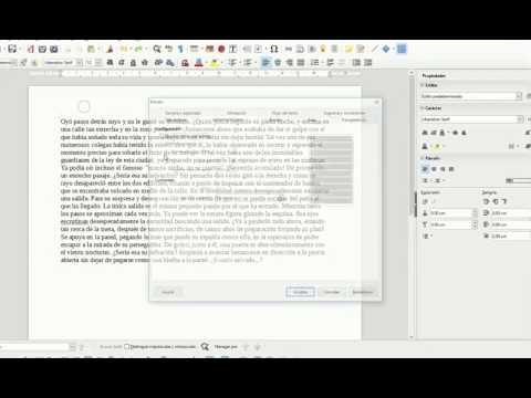 LibreOffice Writer - Letras capitulares o letra capital (LV)