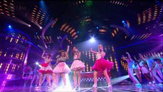 Little Mix love a bit of Bieber - The X Factor 2011 Live Show 8 (Full Version)