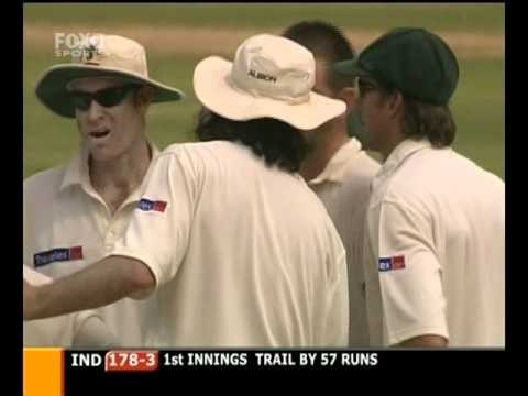 2004 India Vs Australia 2nd TEST HIGHLIGHTS