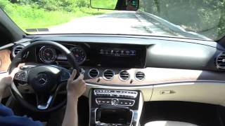 2017 Mercedes-Benz E 300 E-Class - Smail Ride Along - Virtual Test Drive