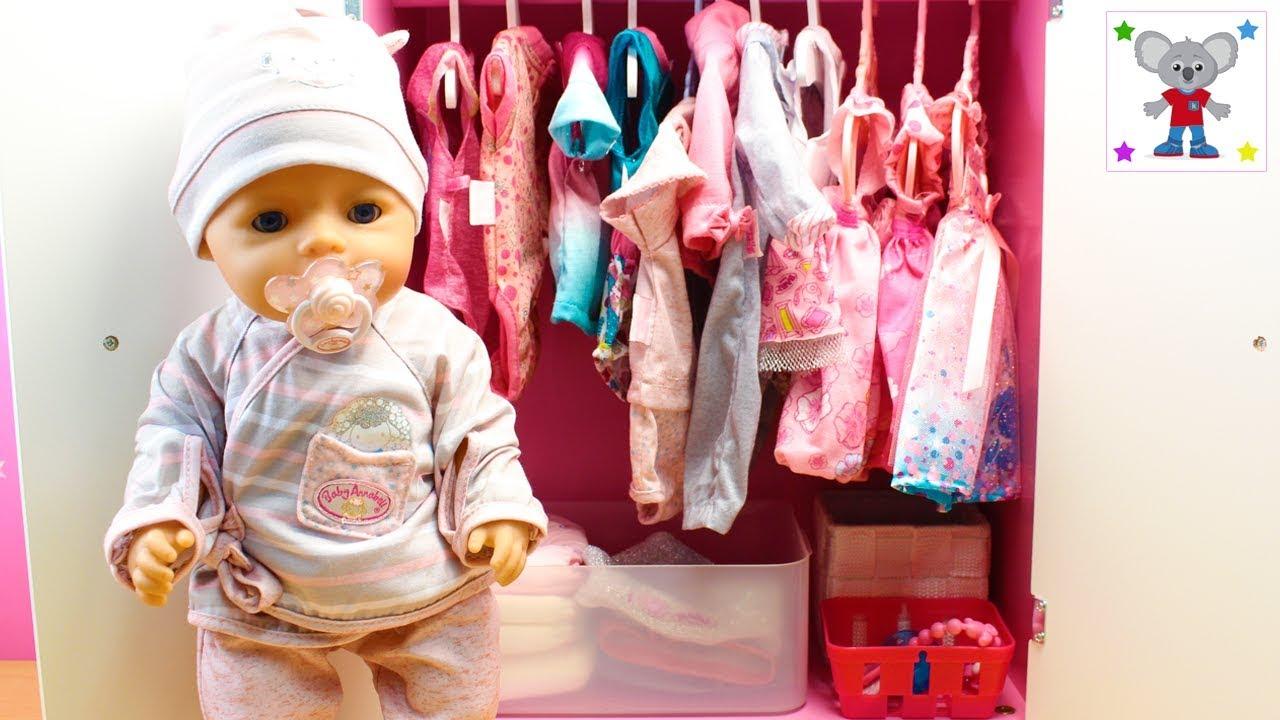 161 Nuevo Armario De La Beb 233 Baby Born Coloco Su Ropa Nueva