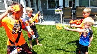 Nerf War Noobs Vs Pros