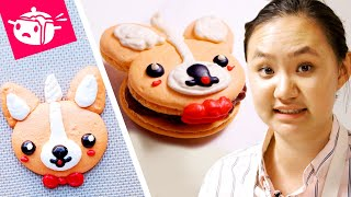 I Tried To Re-Create These Corgi Macarons thumbnail