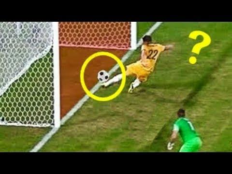 7 أهداف خاطئة لكن احتسبها حكام المباراة صحيحة..!!