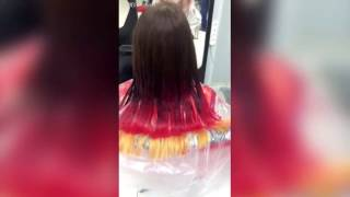 Окрашивание волос в стиле