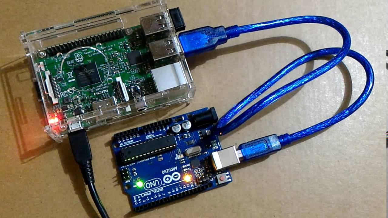 Run arduino software on raspberry pi raspbian