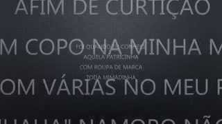Trio Yeah - Patricinha - Áudio e Letra