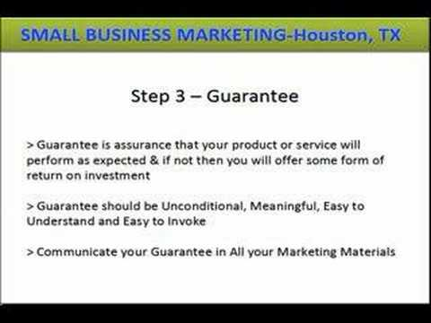 Small Business Marketing Houston Texas - 5 Step Market Domination Video