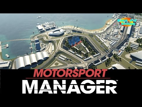 Motorsport Manager Let's Play #2 - Our First Race! - Black Sea GP Gameplay