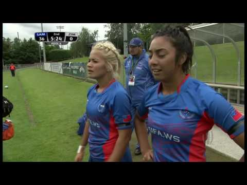 2016 Women Olympic Repechage Match 5 Samoa vs Zimbabwe
