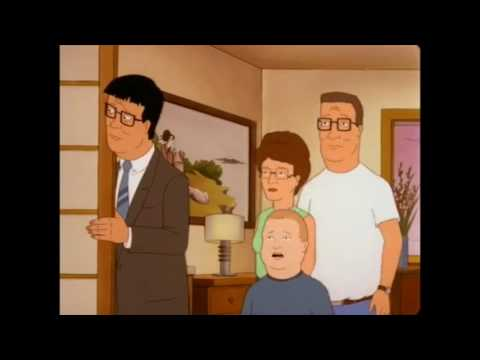 King of the Hill - The Hills don't understand Japanese hotels