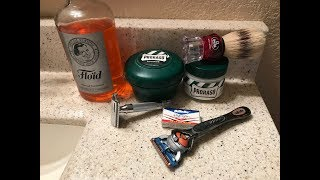 "Why Wetshave?  DE Razor vs. Gillette Fusion. ""What's the difference"".....in Price and Results."