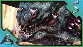 OUR FIRST TITAN TAME! TAMING THE DESERT TITAN! - Ark: Extinction [DLC Gameplay E54]