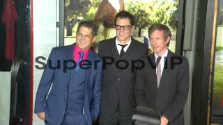 Jeff Tremaine, Spike Jonze, Johnny Knoxville at 'Jackass ...