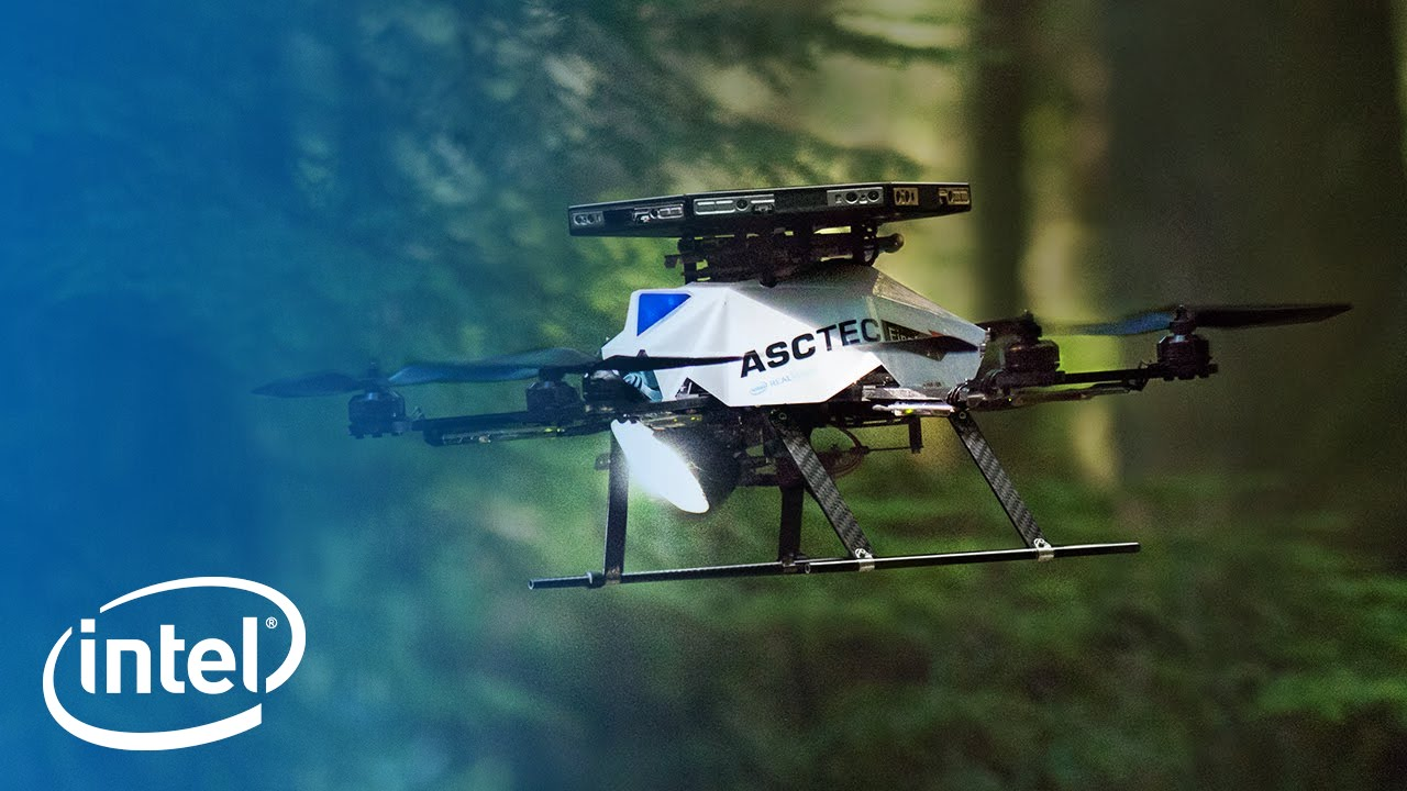 Iklan Intel Inside. Tech to the Rescue Outside. versi Drone