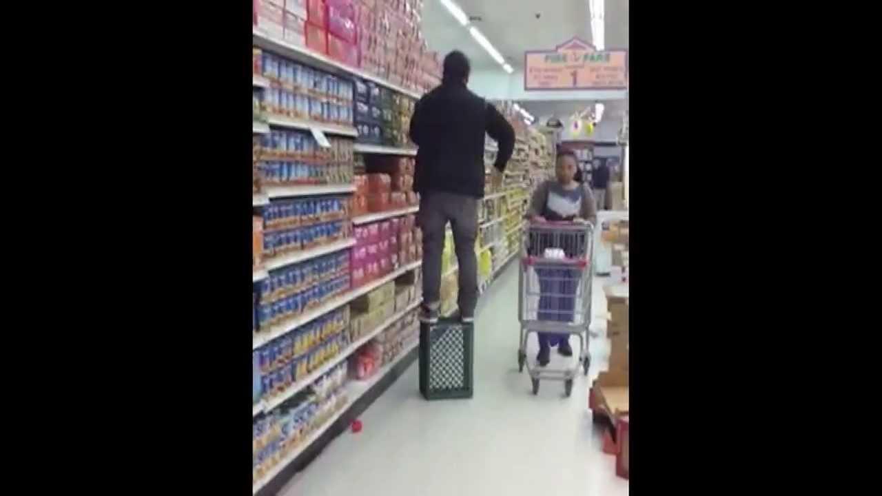Great Shelf Stocking Technique Youtube