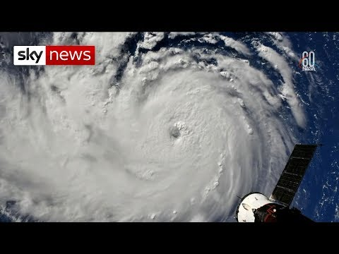 Locals prepare for \'monster\' Hurricane Florence