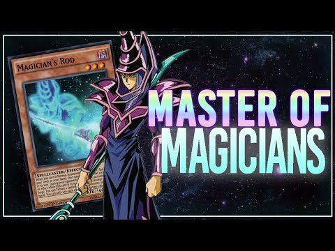 [Yu-Gi-Oh! Duel Links] Dark Magician: Arkana Lvl 40 - Master of Magicians
