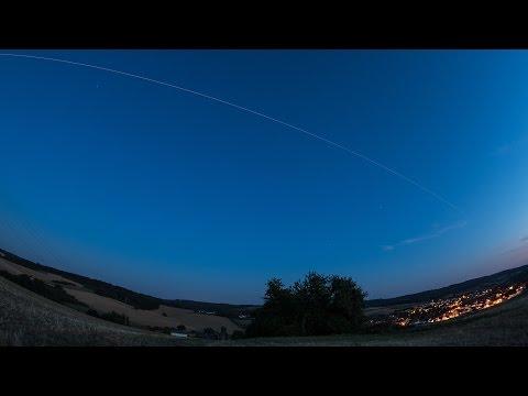 ISS Überflug 03.08.2015