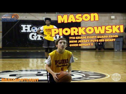 Class Of 2023 Mason Piorkowski @ Bballspotlight's Tip Off Classic 2017 ! - #HEARTOVERHEIGHT