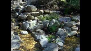 Natural Stone Waterfall And Pond Contractor