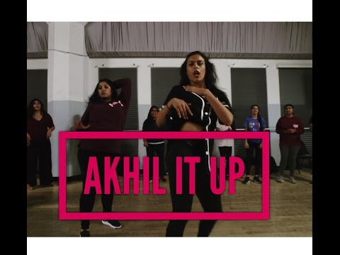 AKHIL IT UP - DJ FRENZY #BhangraFunk (feat. Akhil & Major Lazer)