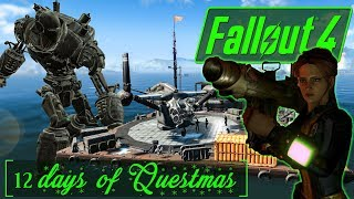 12 Days of Questmas! - Day 1 - Operation Manhattan - New York BoS- Fallout 4 Quest Mod Gameplay