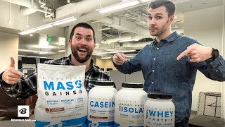 Signature Protein Stack Giveaway Winners! | Brain Gainz