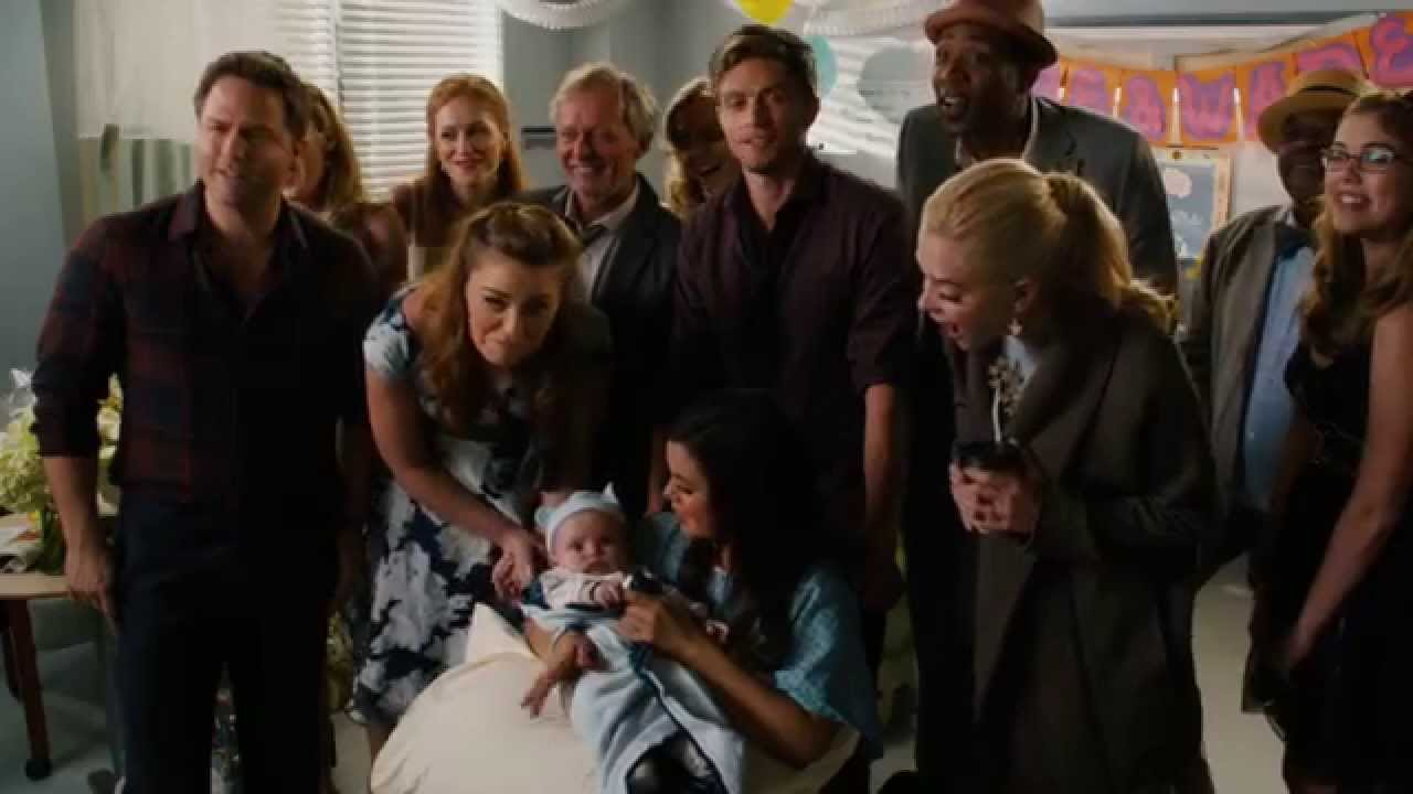 Zoe Wade scenes 4x10 part 10/10 Zoe and Wade with baby ... Wade And Zoe Hart Of Dixie