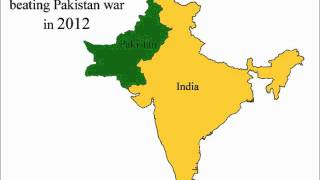 NEW MAP OF INDIA AND PAKISTAN IN 2012 - A MUST SEE VIDEO THE