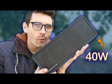 monta tus fiestas en cualquier sitio con este altavoz de 40W!! MUSIC BOX 9