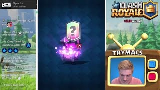 2 FREE LEGENDARY CARDS HINTEREINANDER! | ULTRA LUCK | CLASH ROYALE