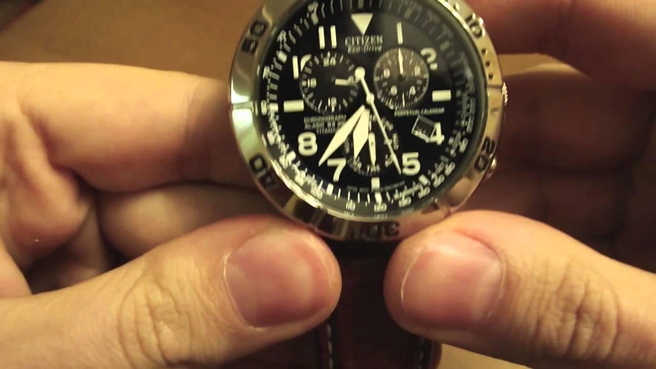 видео инструкция настройки ситизен часы