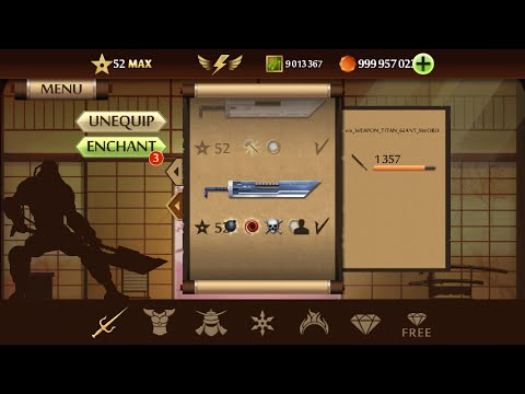 cách hack shadow fight 2 max level